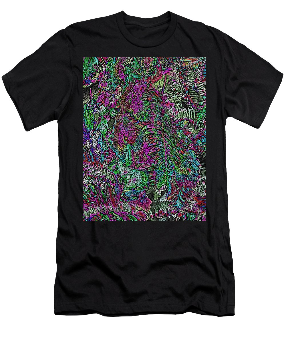 Weather Men's T-Shirt (Athletic Fit) featuring the digital art Rainy Day Delight 1 by Tim Allen