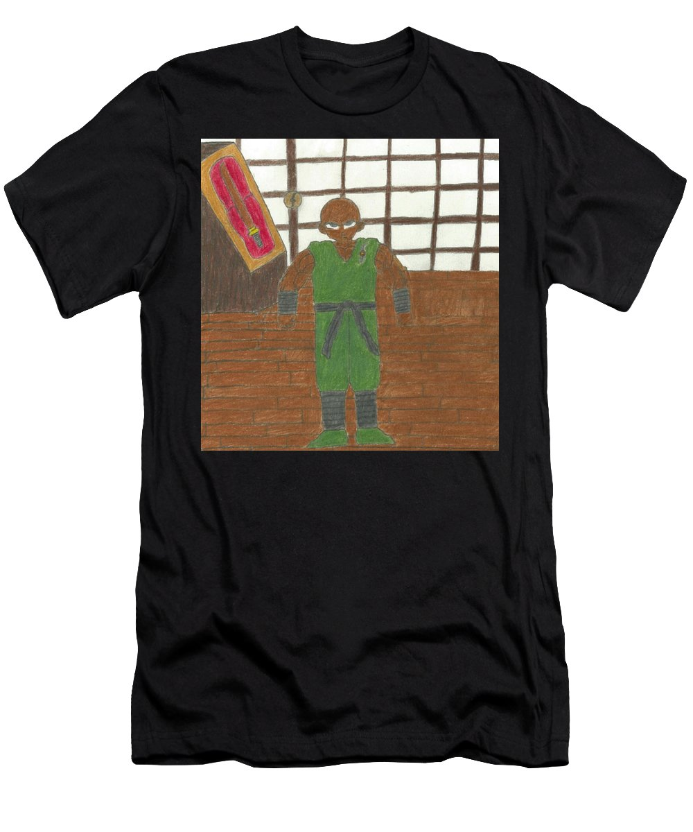 Master Men's T-Shirt (Athletic Fit) featuring the drawing Rajarous by Rahmel Garner