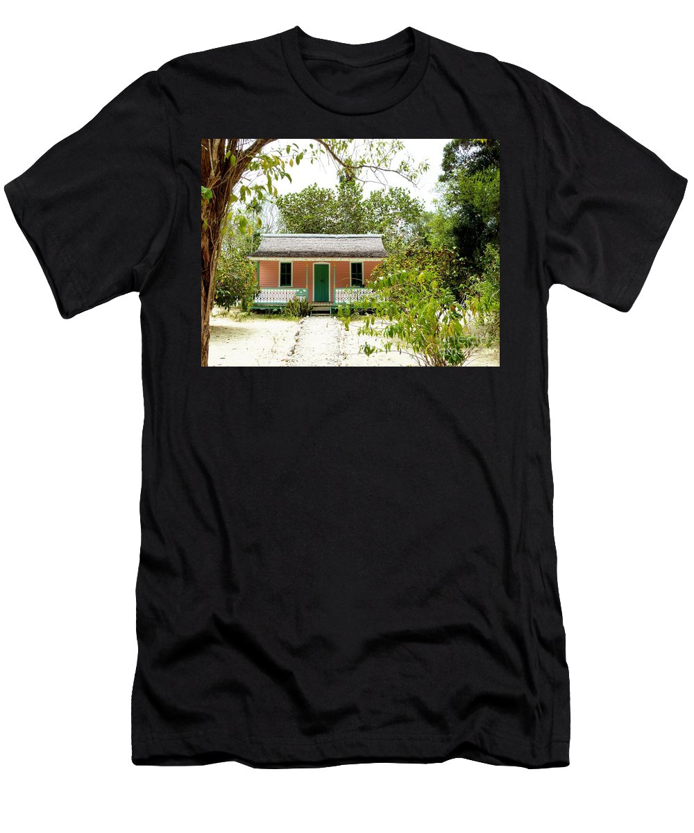 Amar Sheow Fine Art Photography Men's T-Shirt (Athletic Fit) featuring the photograph Rankine Home by Amar Sheow