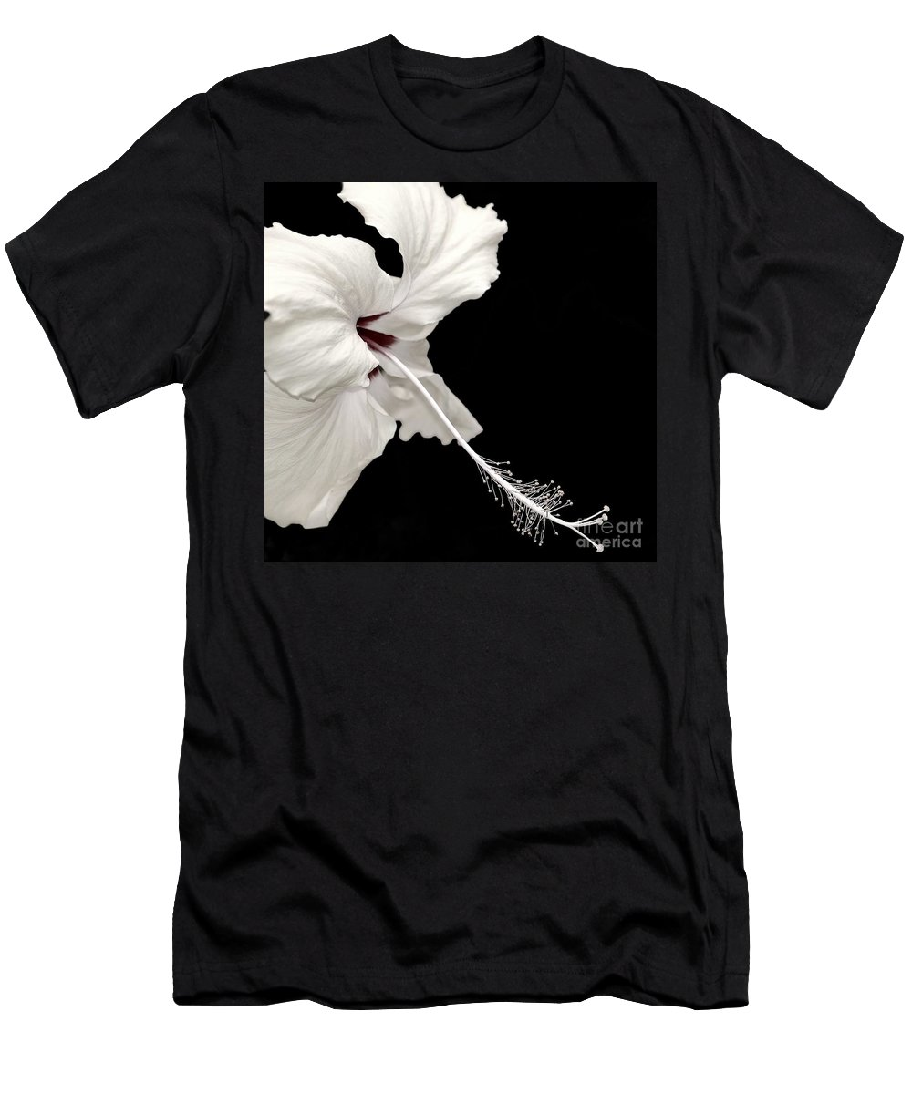Flower Men's T-Shirt (Athletic Fit) featuring the photograph Reach Out by Jacky Gerritsen
