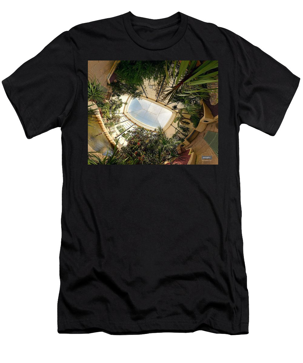Real World Men's T-Shirt (Athletic Fit) featuring the digital art Real World by Maye Loeser