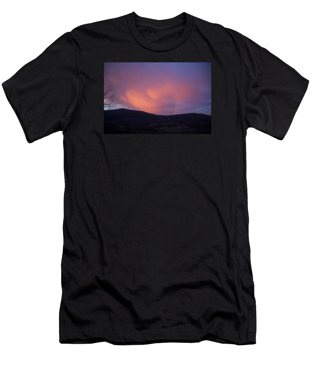 Sunset T-Shirt featuring the photograph Red Clouds by Toni Berry