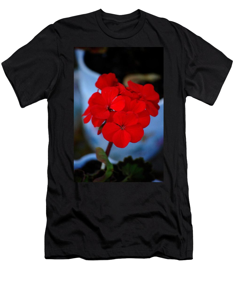 Men's T-Shirt (Athletic Fit) featuring the photograph Red Menace by David Lane