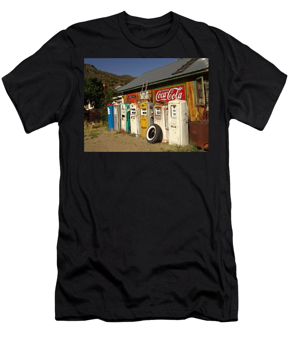 Auto Men's T-Shirt (Athletic Fit) featuring the photograph Remember When by Carol Milisen