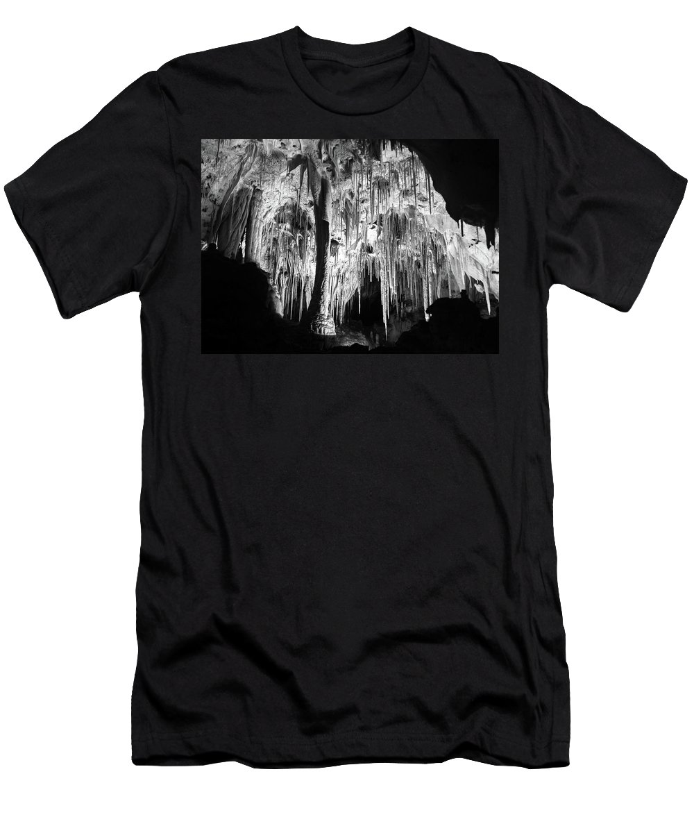 Carlsbad Men's T-Shirt (Athletic Fit) featuring the photograph Remnant Tears Of Time by Cary Leppert