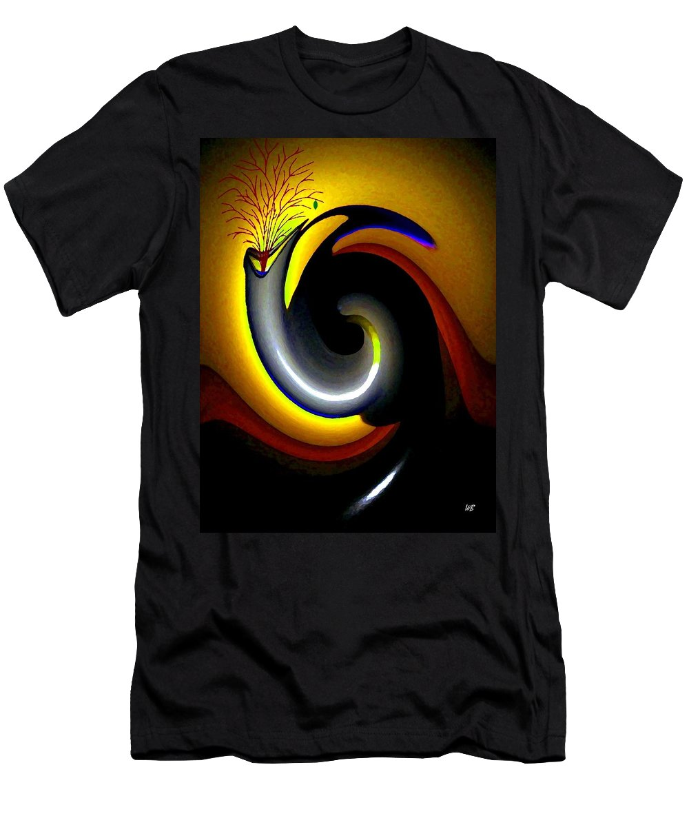 Rebirth Men's T-Shirt (Athletic Fit) featuring the digital art Renaissance by Will Borden