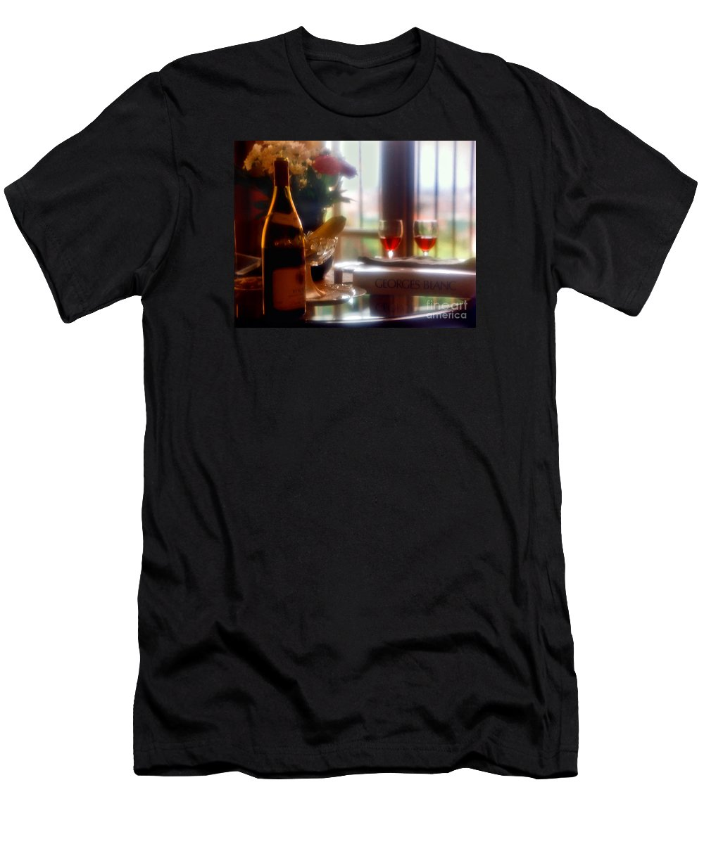 George Blanc Men's T-Shirt (Athletic Fit) featuring the photograph Rendezvous by Madeline Ellis