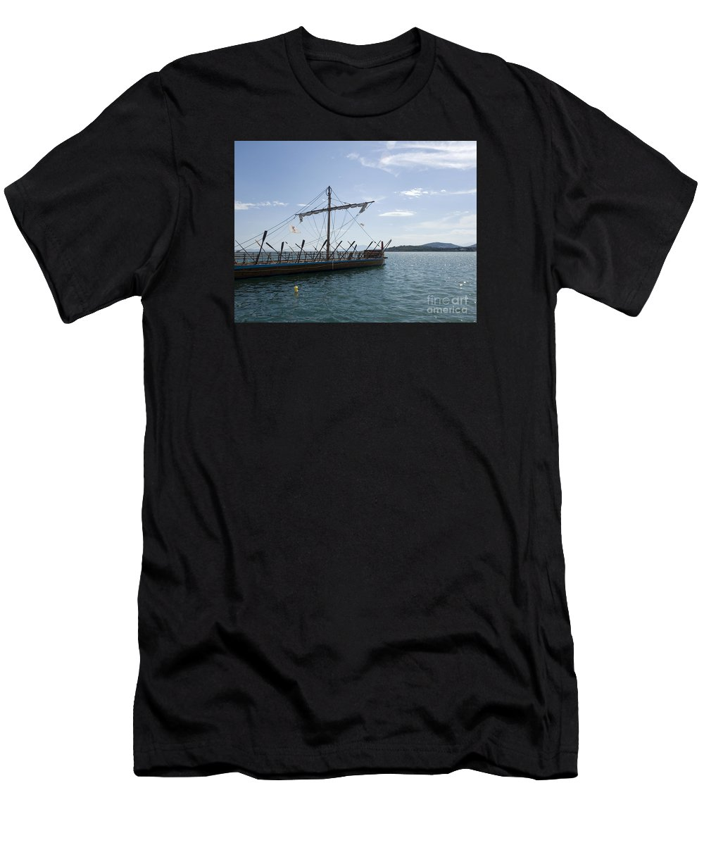 Replica Men's T-Shirt (Athletic Fit) featuring the photograph Replica Of Argo by Moshe Torgovitsky