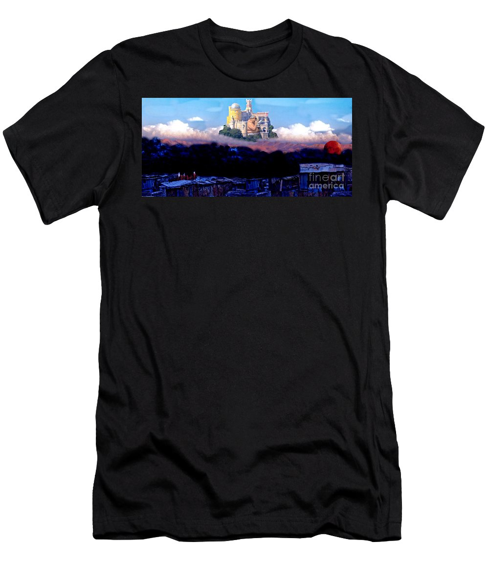 Resolve Two Men's T-Shirt (Athletic Fit) featuring the digital art Resolve Two by John Malone