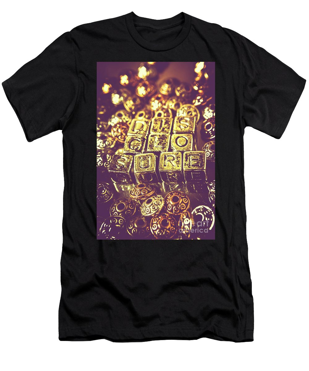 Space Men's T-Shirt (Athletic Fit) featuring the photograph Revealing Mysterious Of Space by Jorgo Photography - Wall Art Gallery