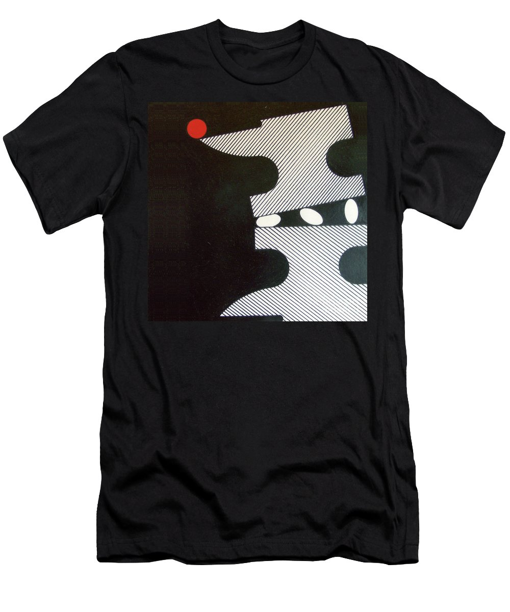 Dark Anvil Men's T-Shirt (Athletic Fit) featuring the drawing Rfb0914 by Robert F Battles