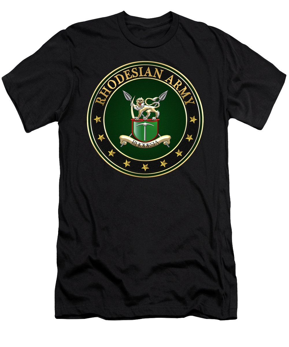 f03fc2df 'military Insignia & Heraldry 3d' Collection By Serge Averbukh Men's T-Shirt  (