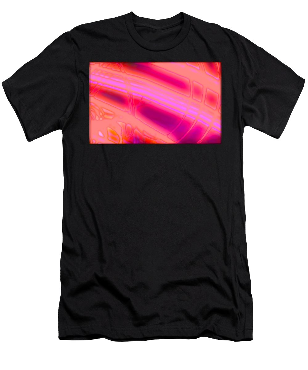Art Digital Art Men's T-Shirt (Athletic Fit) featuring the digital art Rib3mlv1 by Alex Porter