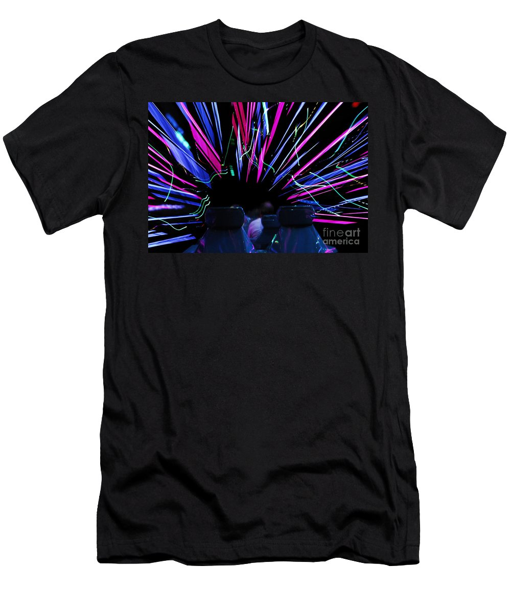 Ride Men's T-Shirt (Athletic Fit) featuring the photograph Ride Trip by David Lee Thompson