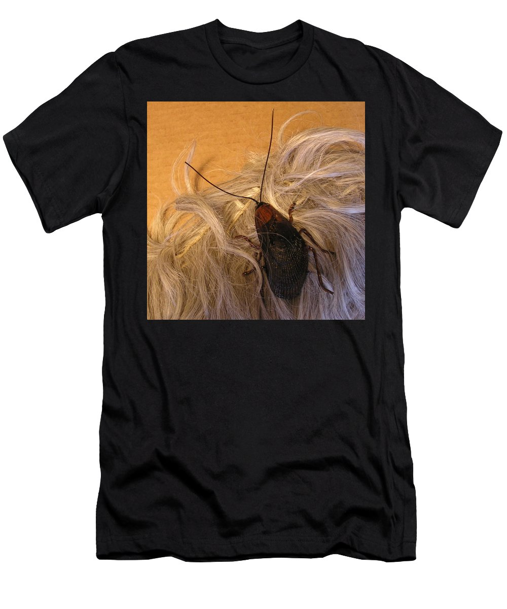 Jewelry Men's T-Shirt (Athletic Fit) featuring the sculpture Roach Hair Clip by Roger Swezey