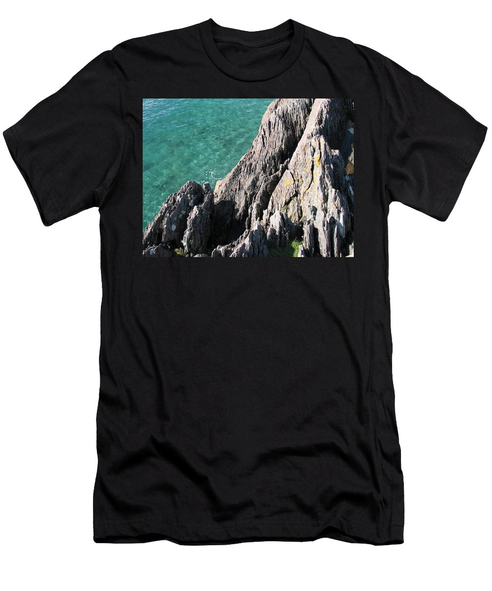 Kerry T-Shirt featuring the photograph Rocks of Kerry by Kelly Mezzapelle