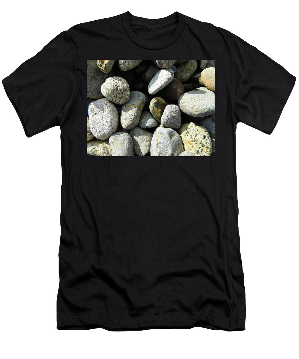 Rock T-Shirt featuring the digital art Rocks by Palzattila