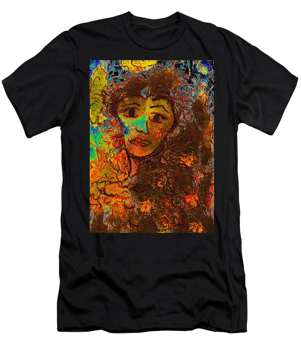 Romantic Memories Men's T-Shirt (Athletic Fit) featuring the painting Romantic Memories by Natalie Holland