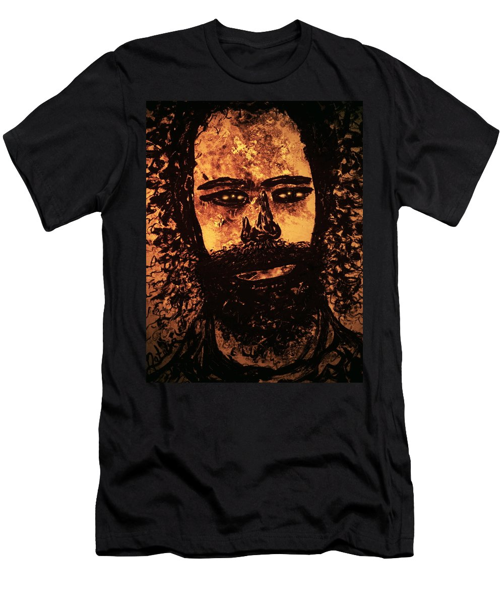 Expressionism T-Shirt featuring the mixed media Romantic Poet by Natalie Holland