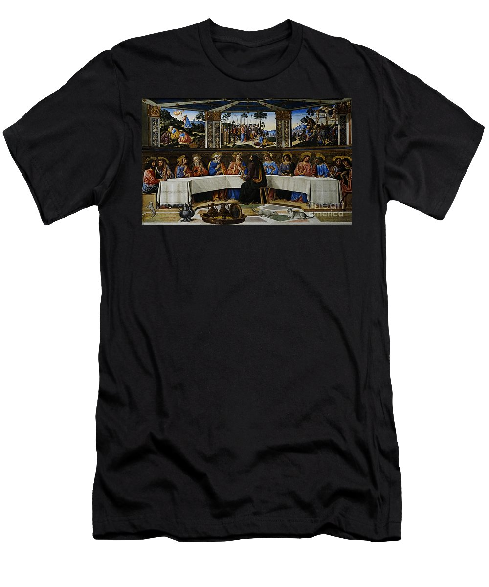 Rome Men's T-Shirt (Athletic Fit) featuring the photograph Rome 18 by Ben Yassa