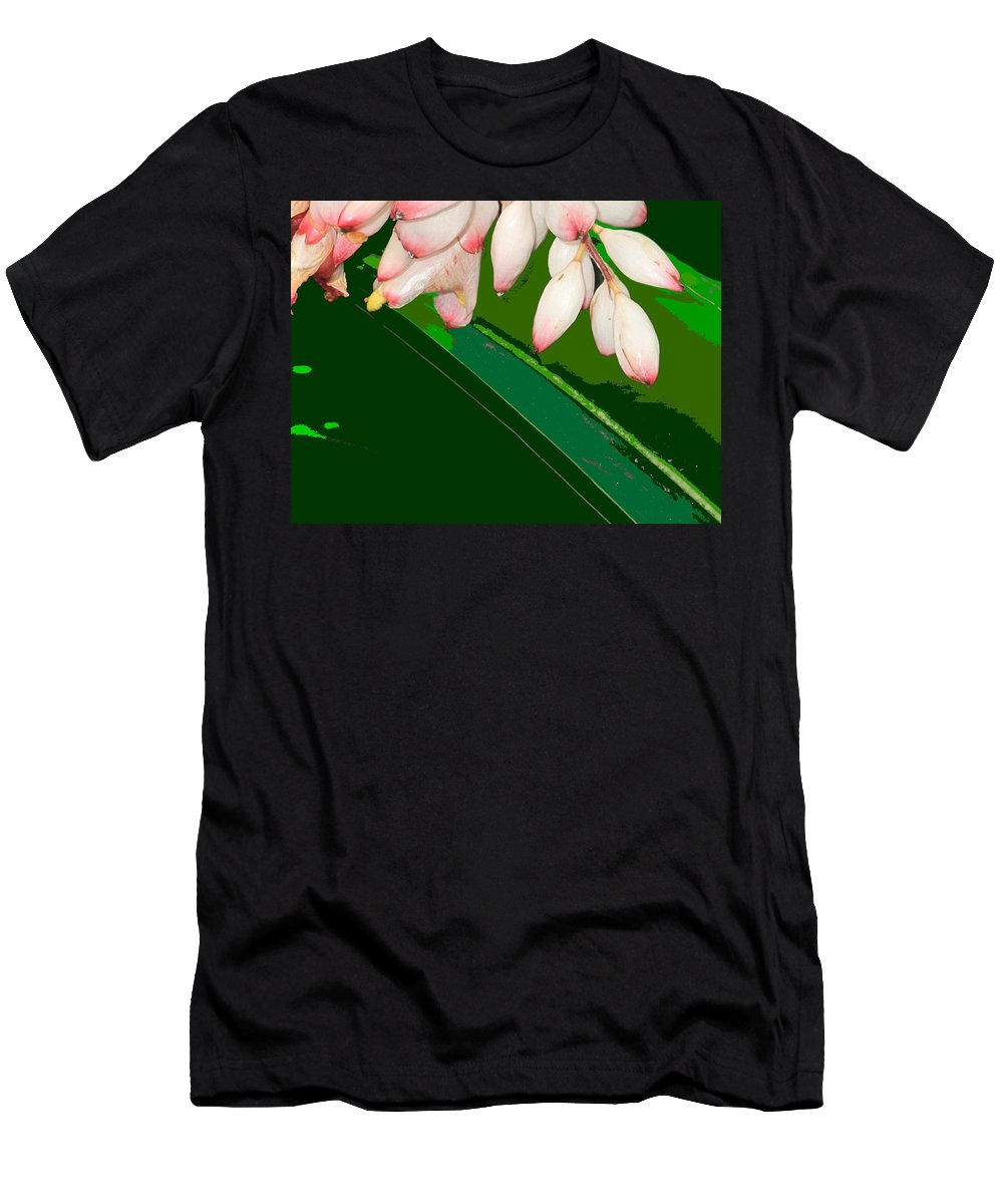 Flowers Men's T-Shirt (Athletic Fit) featuring the photograph Romney White by Ian MacDonald