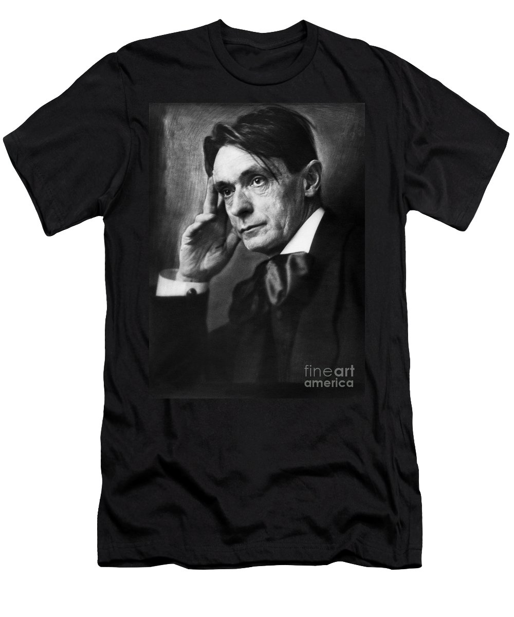 1919 Men's T-Shirt (Athletic Fit) featuring the photograph Rudolf Steiner (1861-1925) by Granger