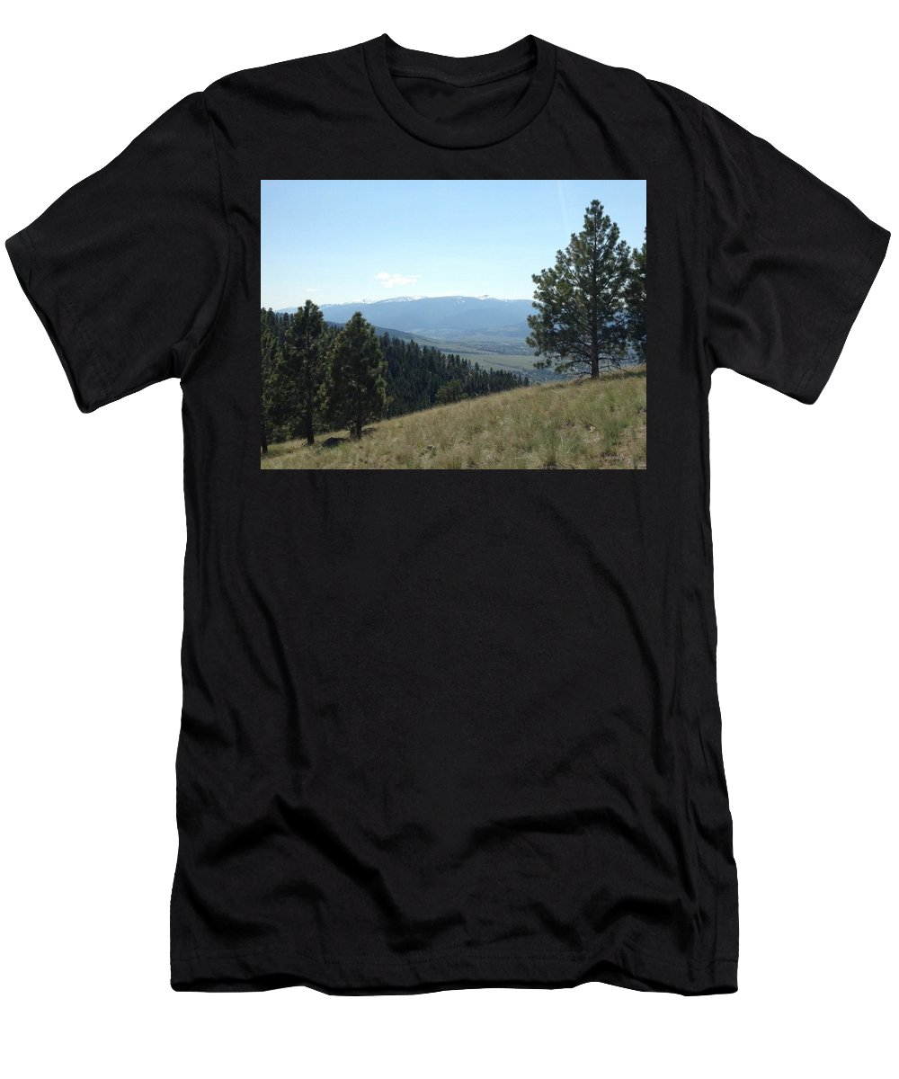 Men's T-Shirt (Athletic Fit) featuring the photograph Rugged Serenity by Dan Hassett
