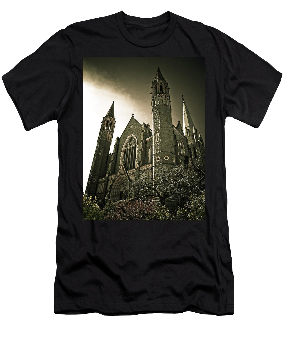 Rupunzel Men's T-Shirt (Athletic Fit) featuring the photograph Rupunzel by Kelly Jade King
