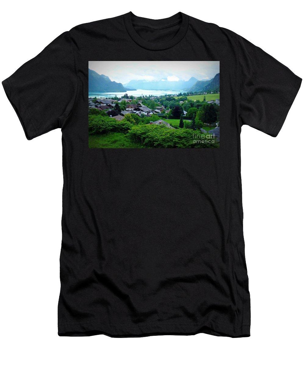 Austria T-Shirt featuring the photograph Salzburg Lake District by Carol Groenen