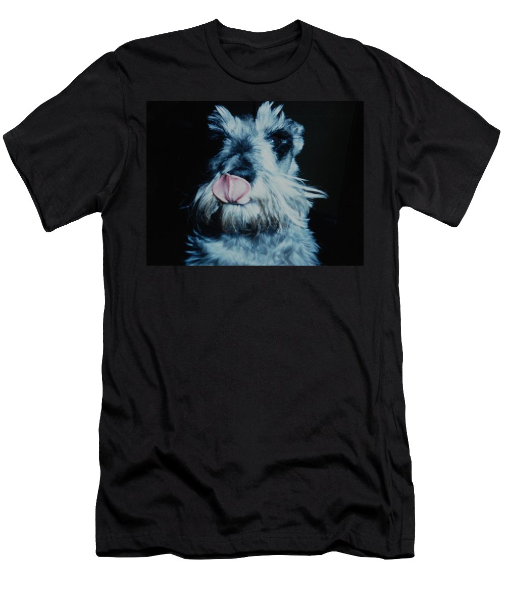 Dogs Men's T-Shirt (Athletic Fit) featuring the photograph Sam The Fat Cow by Rob Hans