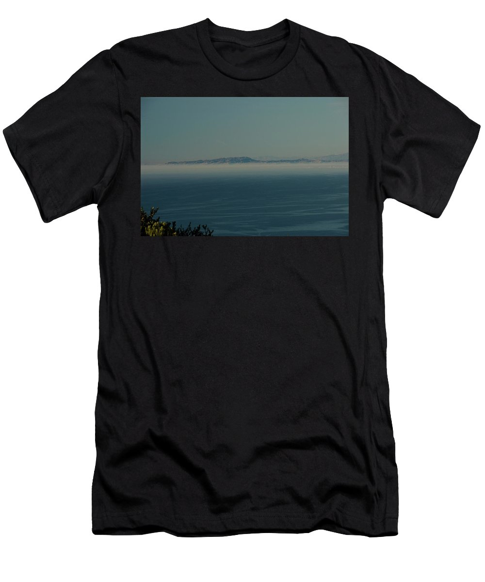 Sea Men's T-Shirt (Athletic Fit) featuring the photograph San Diego December 2008 by Joseph Castiglioni