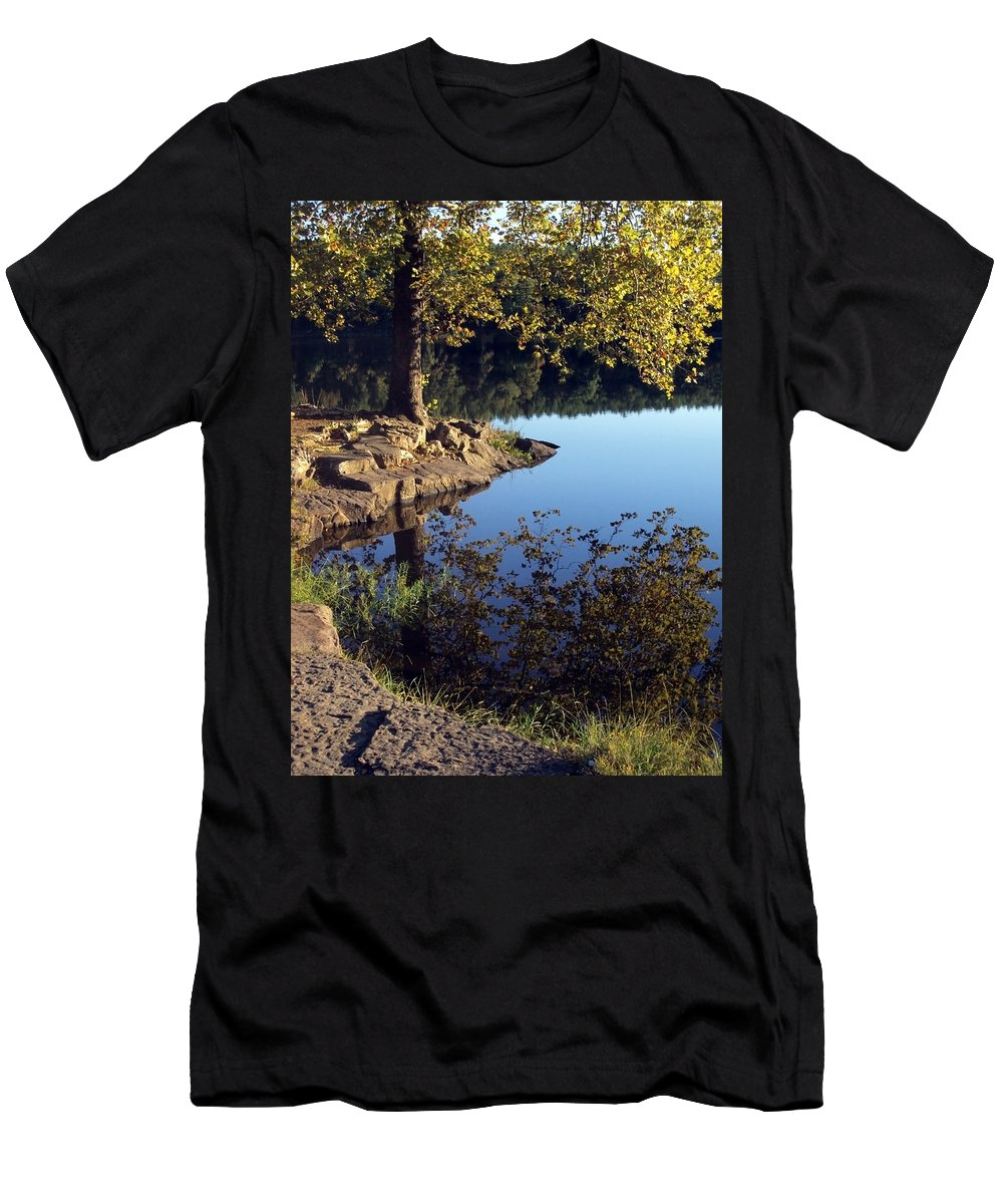 Landscape Men's T-Shirt (Athletic Fit) featuring the photograph Sanctuary by Angelina Vick