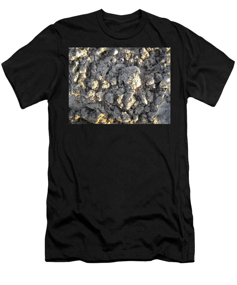 Nature Men's T-Shirt (Athletic Fit) featuring the photograph Sand And Sun by Jan Gilmore