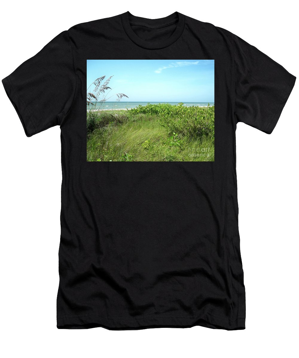 Florida Men's T-Shirt (Athletic Fit) featuring the photograph Sanibel Island by Chris Andruskiewicz