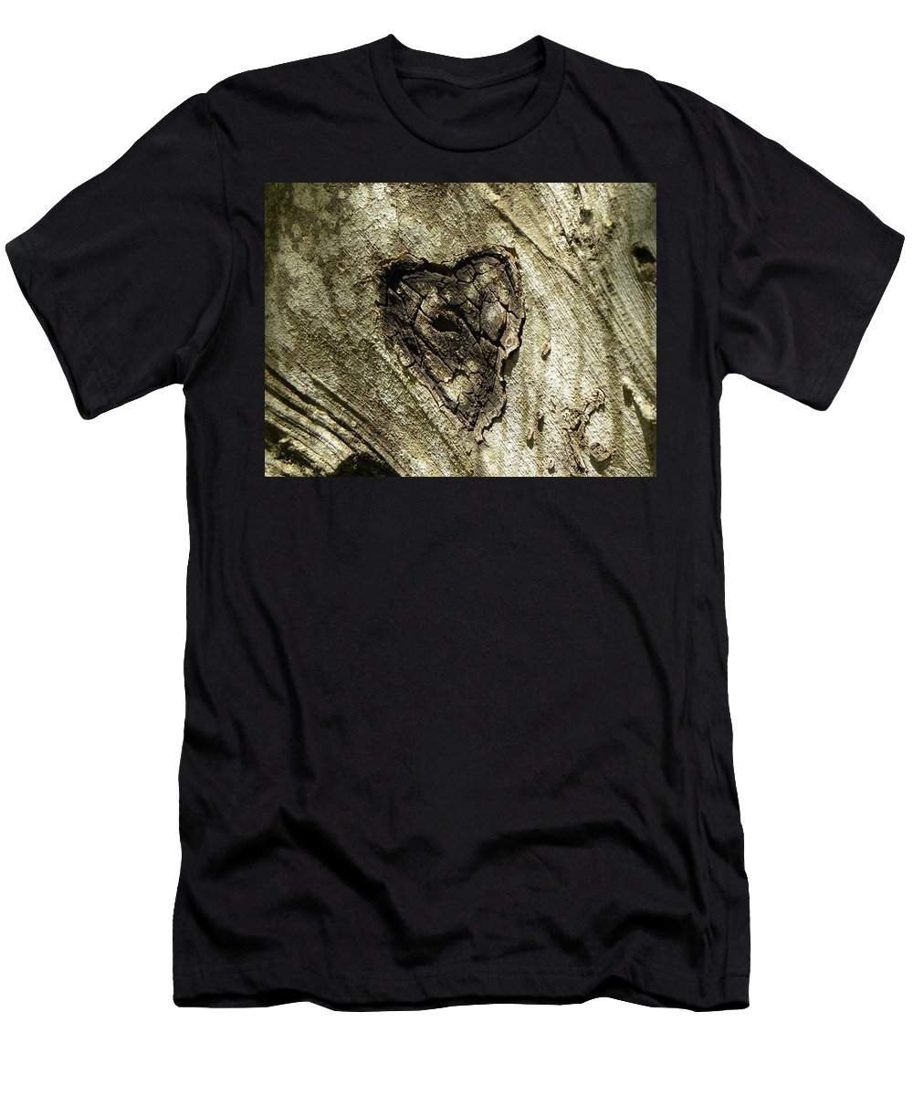 Tree Men's T-Shirt (Athletic Fit) featuring the photograph Love Endures by Shannon Turek