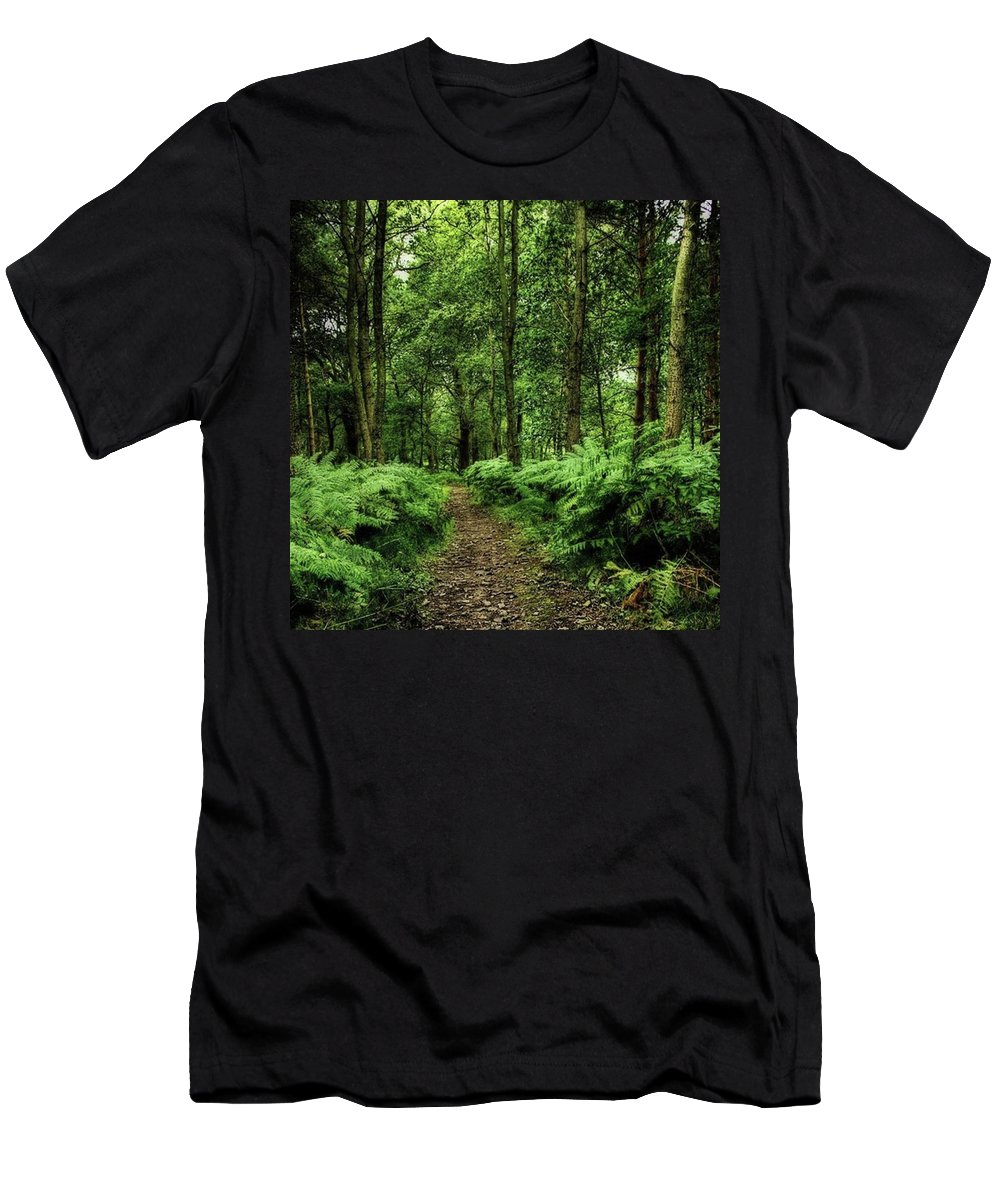 Nature T-Shirt featuring the photograph Seeswood, Nuneaton by John Edwards