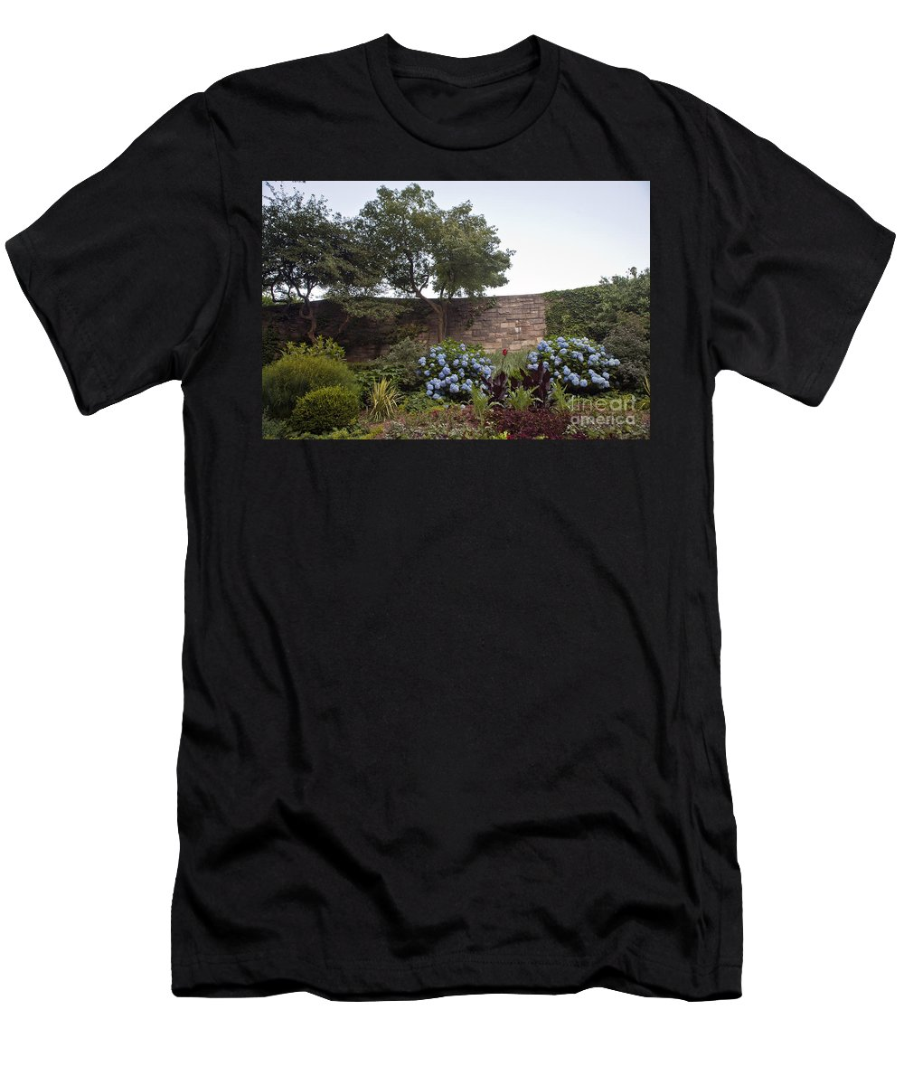 Botany Men's T-Shirt (Athletic Fit) featuring the photograph Serenity by Madeline Ellis