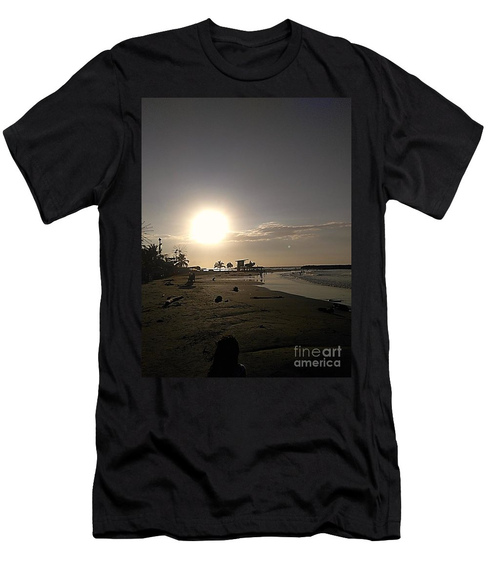 Men's T-Shirt (Athletic Fit) featuring the photograph Serenity by Pahola Baro Sfer
