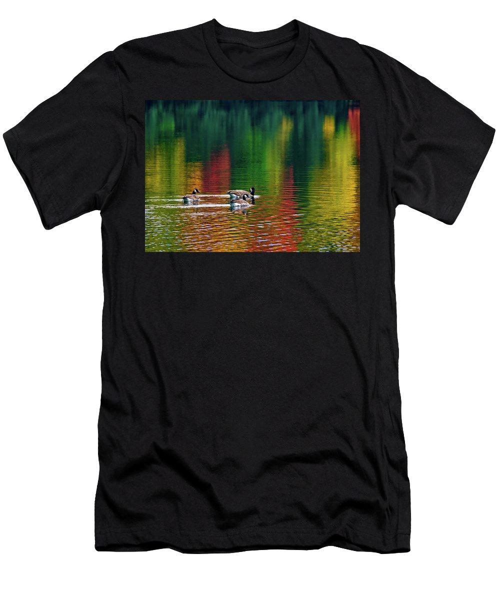 Steve Harrington Men's T-Shirt (Athletic Fit) featuring the photograph Serenity by Steve Harrington