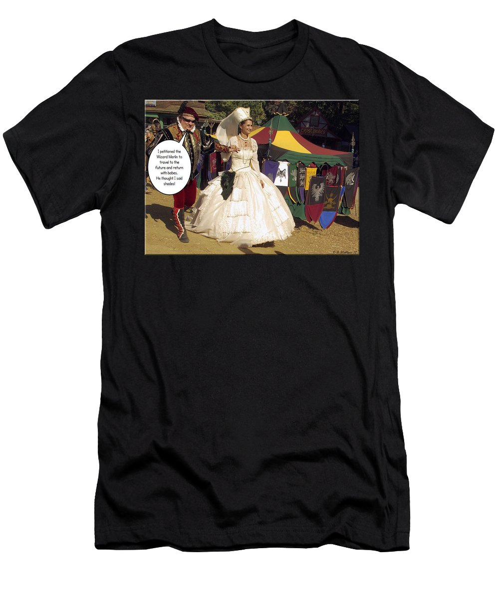 2d Men's T-Shirt (Athletic Fit) featuring the photograph Shades by Brian Wallace