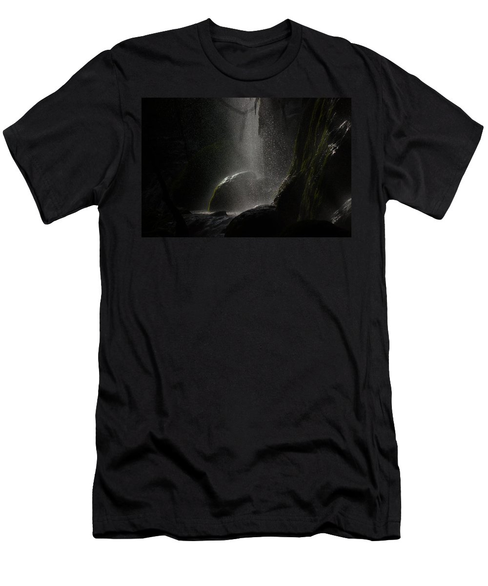 James Smullins Men's T-Shirt (Athletic Fit) featuring the photograph Shadows by James Smullins