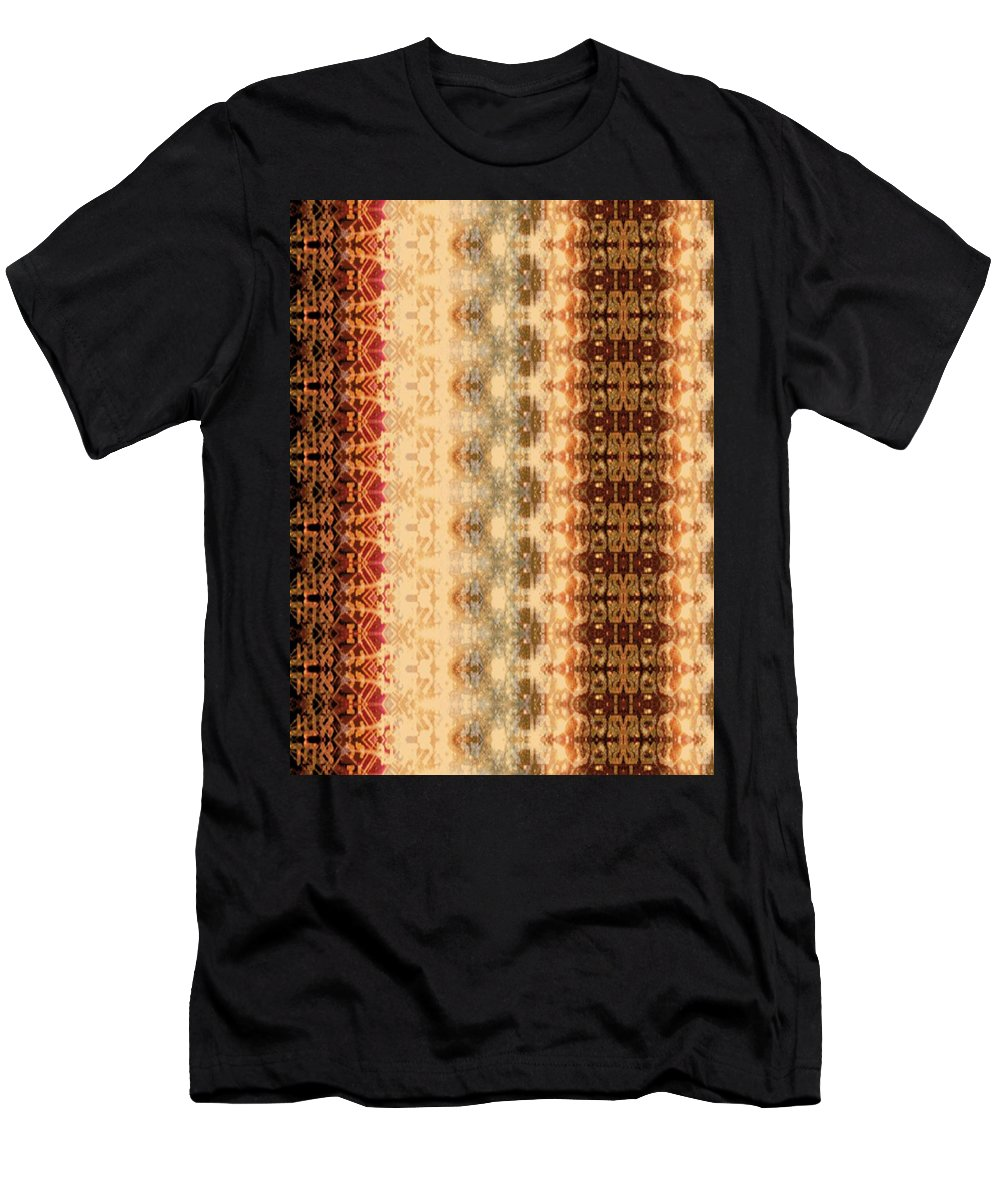 Shema Men's T-Shirt (Athletic Fit) featuring the digital art Shema I See Dimly by Devorah Fraser