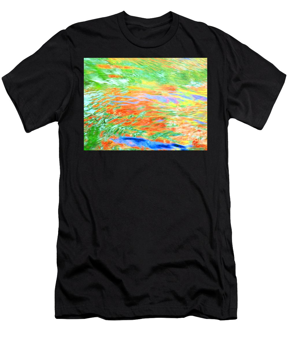 Abstract Men's T-Shirt (Athletic Fit) featuring the photograph Shine Through by Sybil Staples
