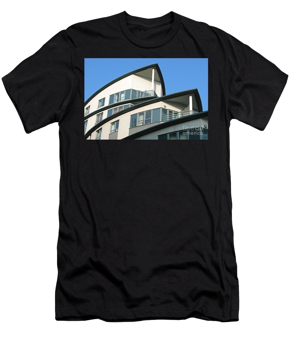 Condo Men's T-Shirt (Athletic Fit) featuring the photograph Ship-shape by Ann Horn