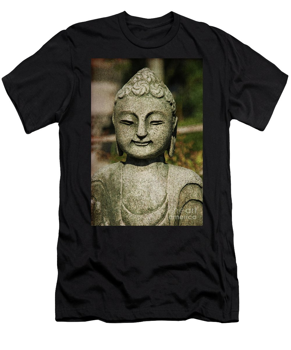 Shiva Men's T-Shirt (Athletic Fit) featuring the photograph Shiva by Susanne Van Hulst