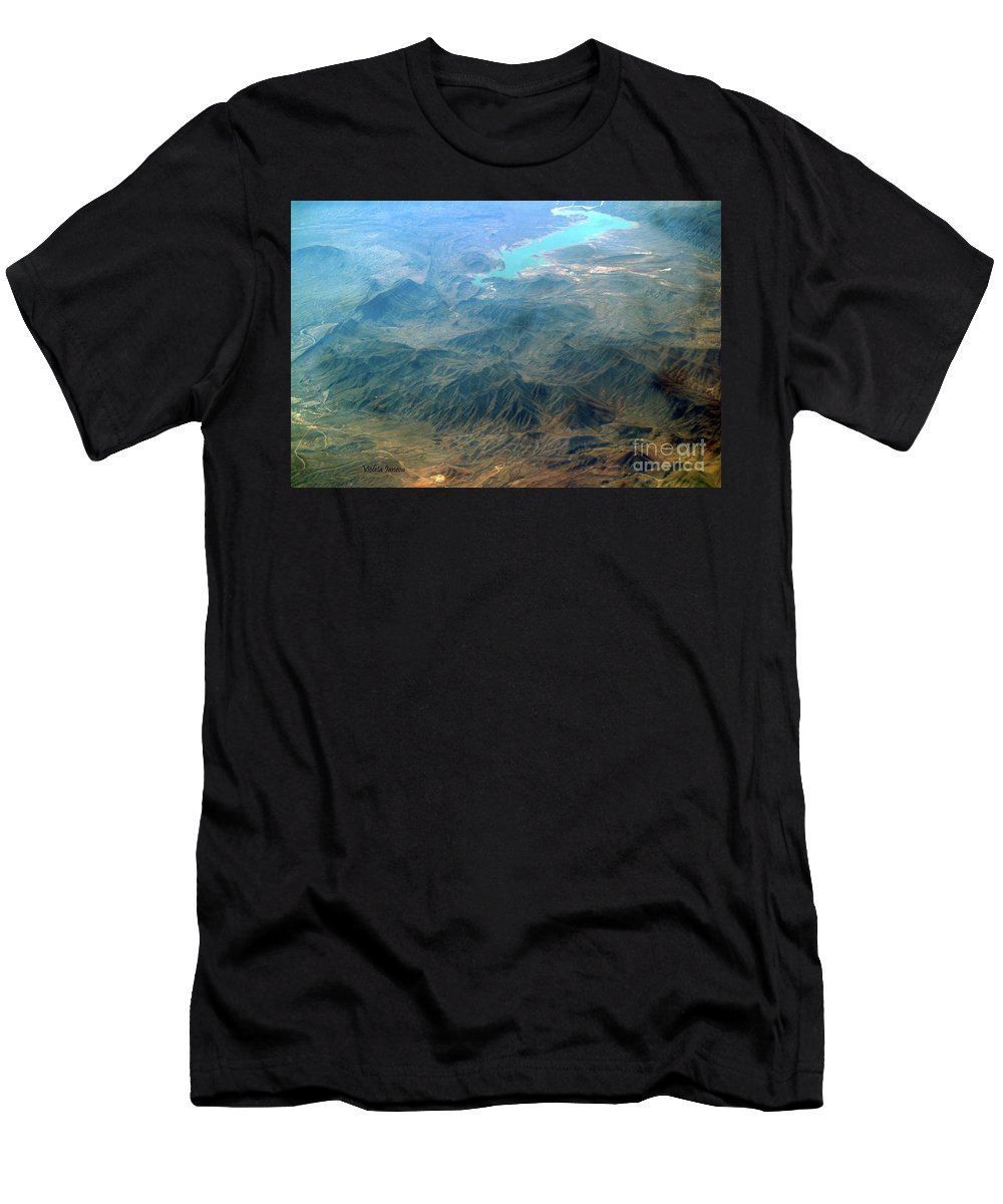 Sierra Madre Men's T-Shirt (Athletic Fit) featuring the photograph Sierra Madre by Violeta Ianeva