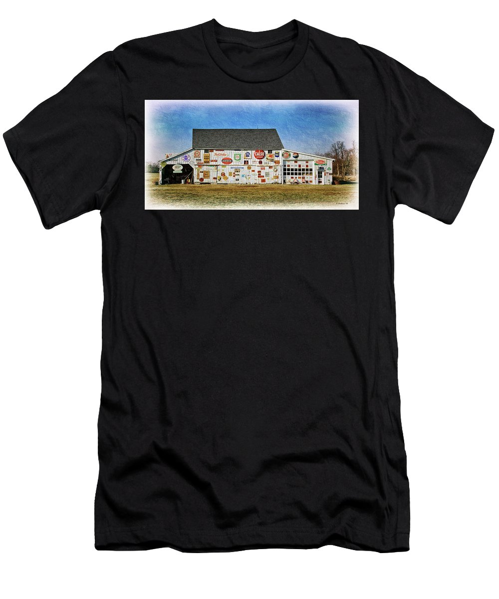 2d Men's T-Shirt (Athletic Fit) featuring the photograph Signs Of The Time by Brian Wallace
