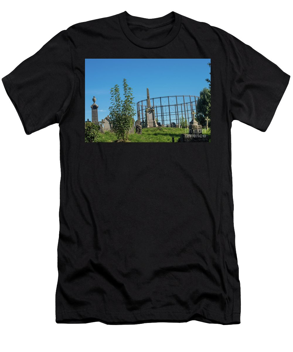Peaceful Men's T-Shirt (Athletic Fit) featuring the photograph Silence by F Helm