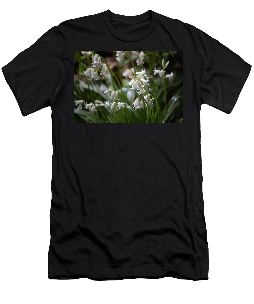 Landscape Men's T-Shirt (Athletic Fit) featuring the photograph Silver Bells by David Lane