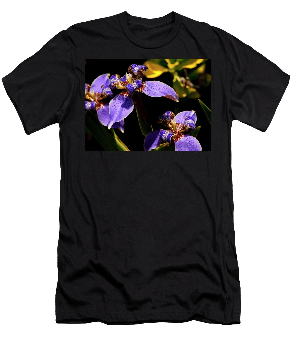 Flower Men's T-Shirt (Athletic Fit) featuring the photograph Simple Beauty IIi by Stephen Anderson